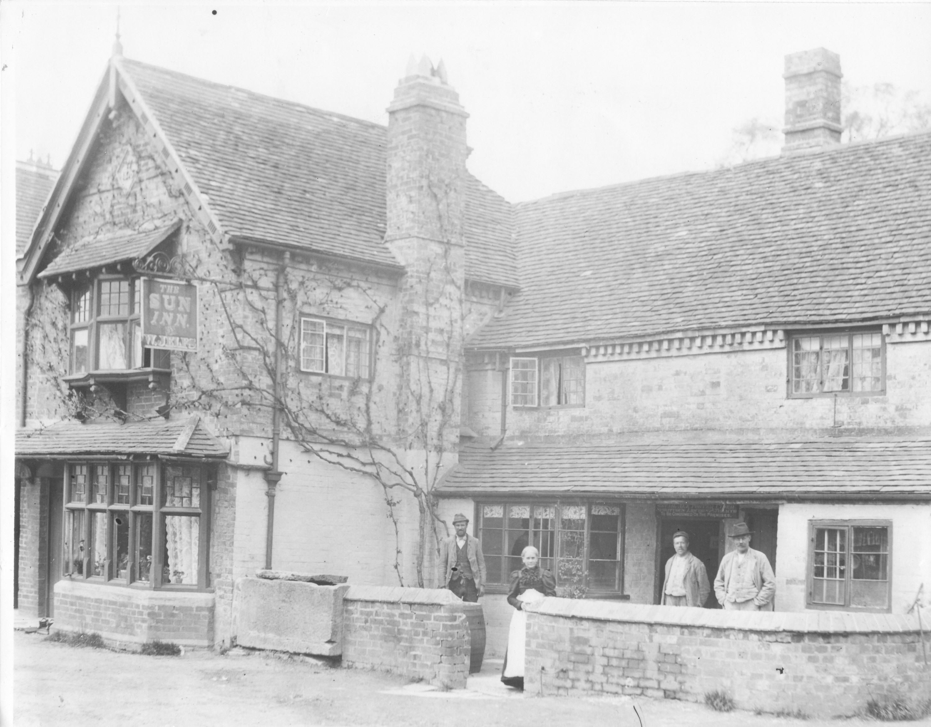 The Sun Inn before it became the Club