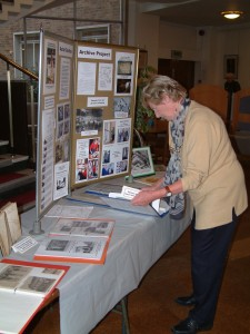 History society exhibition