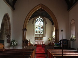 St John the Baptist Church Chancel and East Window