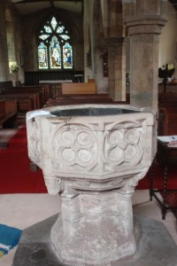 St John the Baptist Church font