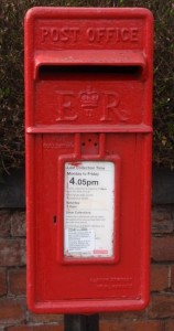 Aston Cantlow Postbox